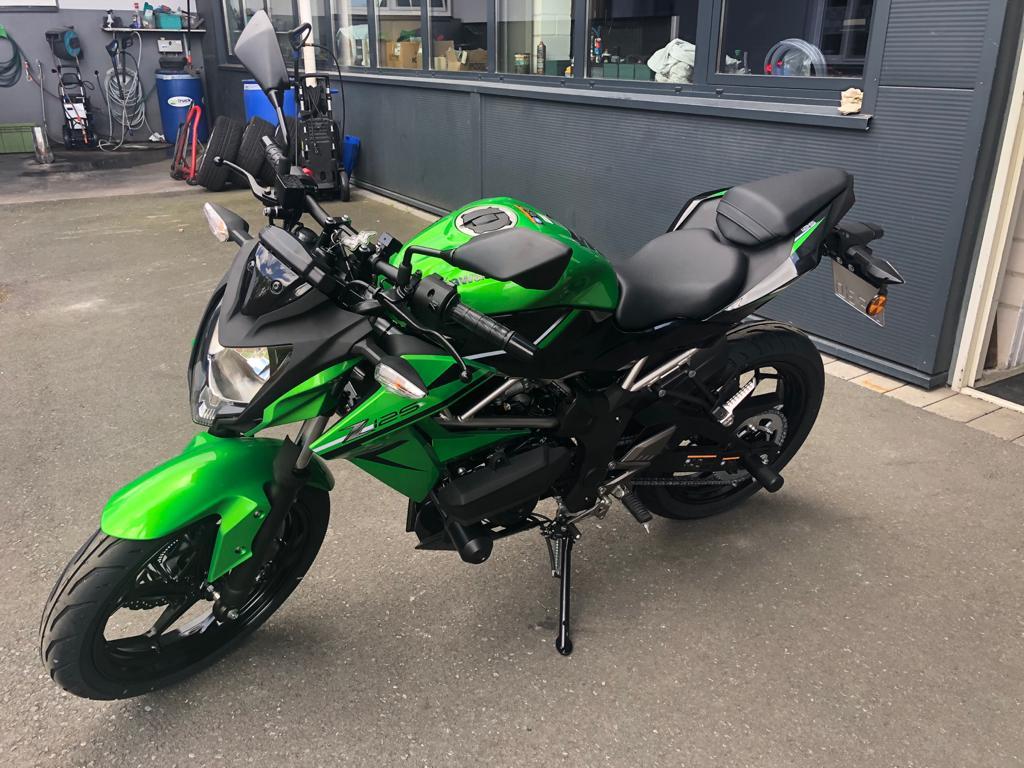Kawasaki Z 125 eingetroffen 🏍